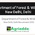 Forest Ranger | Department of Forest & Wildlife - New Delhi, Delhi Recruitment 2020