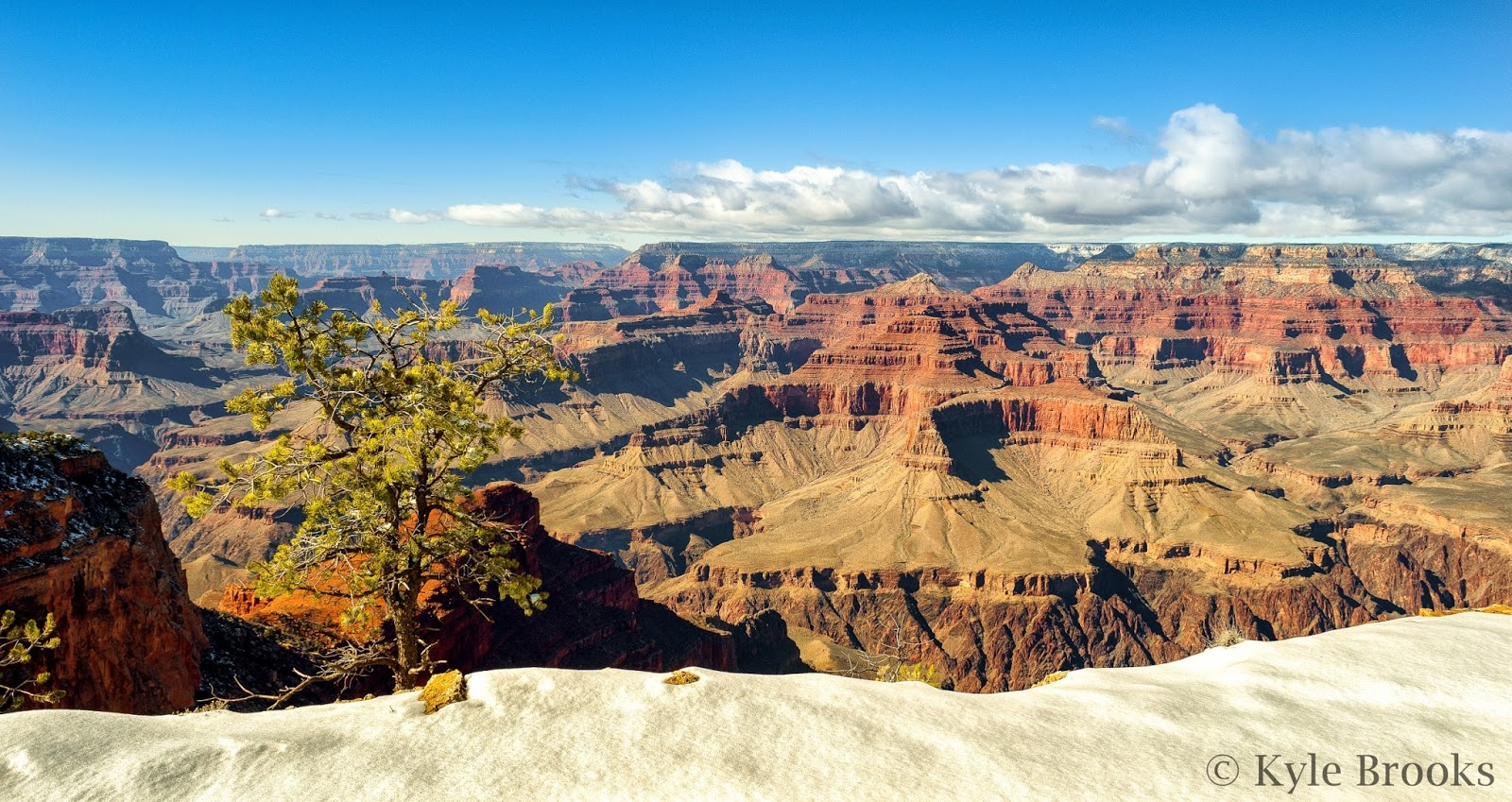 Grand Canyon National Park in the Winter