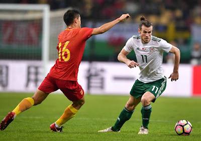 Hattrick di Tiongkok, Gareth Bale Jadi Top Skor Wales
