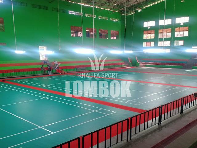 Jual Karpet Badminton Lombok