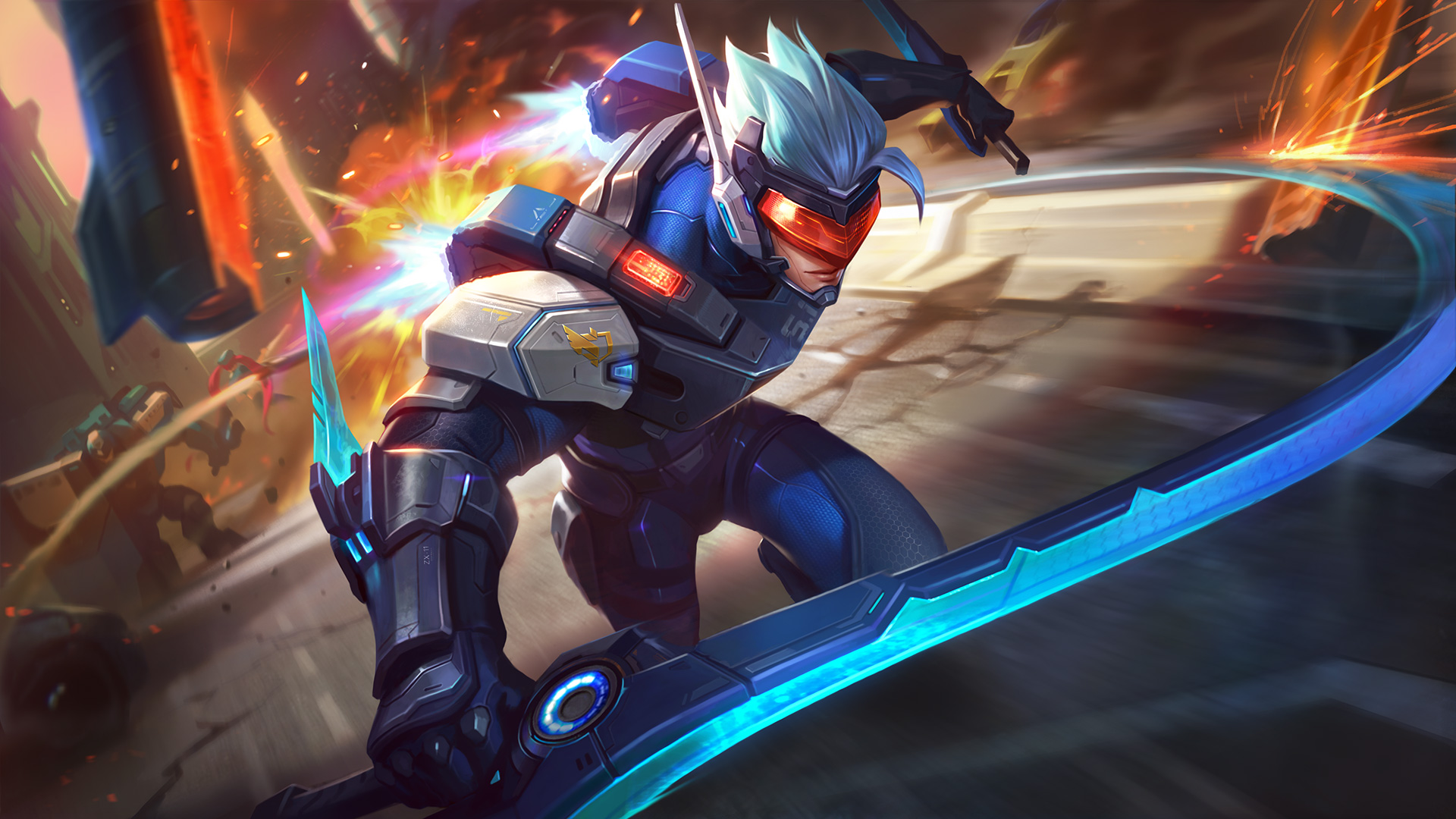 Wallpapers Saber Mobile Legends free for smartphones android, pc, iphone, and apple.