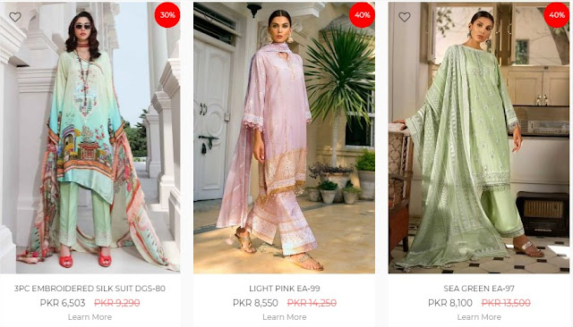 Ideas By Gul Ahmed online sale up-to 50% off