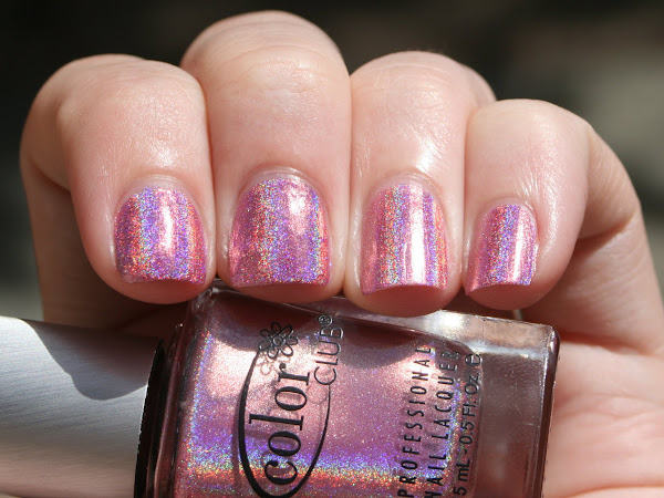 Color Club Halo Hues 2013 - Miss Bliss Swatches, Comparison & Review