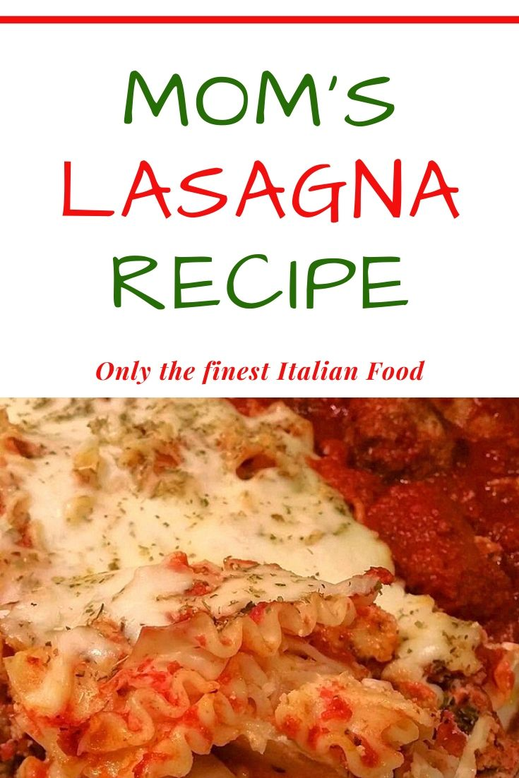 this is a pin for lasagna layered pasta noodles curly with meat sauce