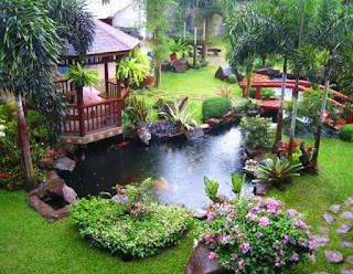 kolam taman