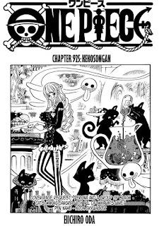 Update! Baca Manga One Piece Chapter 925 Full Sub Indo