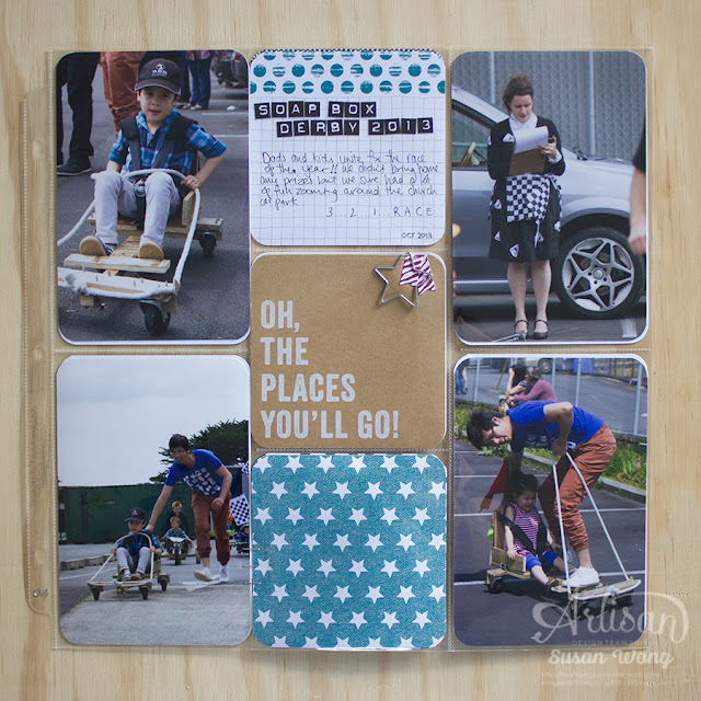 Seasonal Snapshot 2015 Soap Box Derby Page ~ Susan Wong