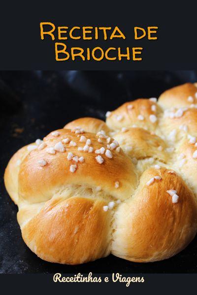 Receita de pão brioche