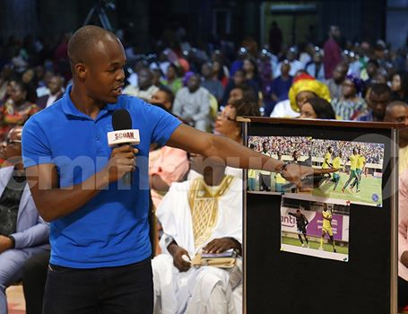 Musona At TB Joshua The SCOAN