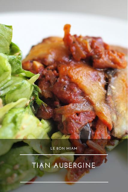 Tian ou Parmigiana aux aubergines, recette facile et rapide