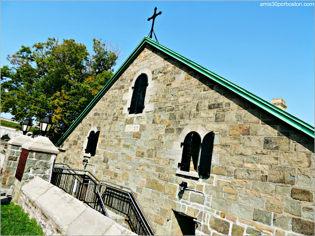 Regimental Chapel en la Ciudadela de Quebec