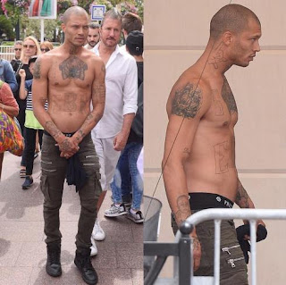 Hot 'Inmate' Jeremy Meeks Spotted Looking Not So Hot 1