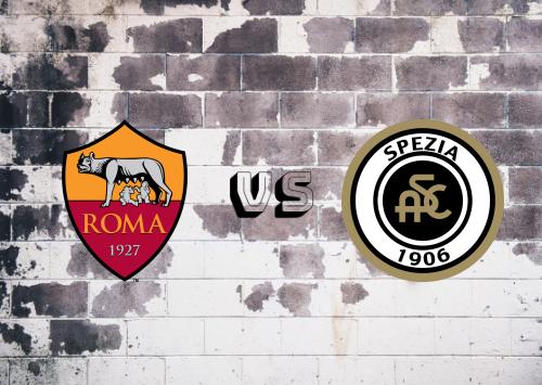 Roma vs Spezia  Resumen