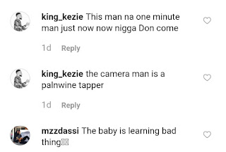 Between A Lady Backing Her Baby And A Man 14