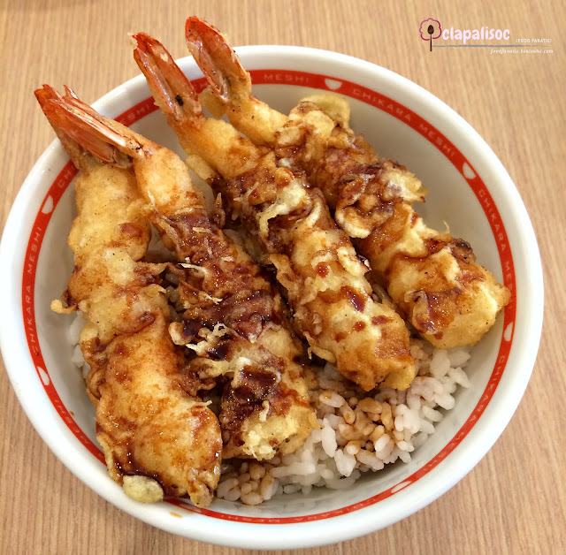 Ebi Power Tendon from Tokyo Power Rice