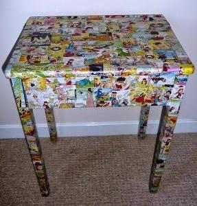 http://123manualidades.com/decorar-mesa-con-comics/2983/