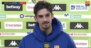 'I was just doing my job': Trincao reacts on his superb match-winning goal for Barcelona