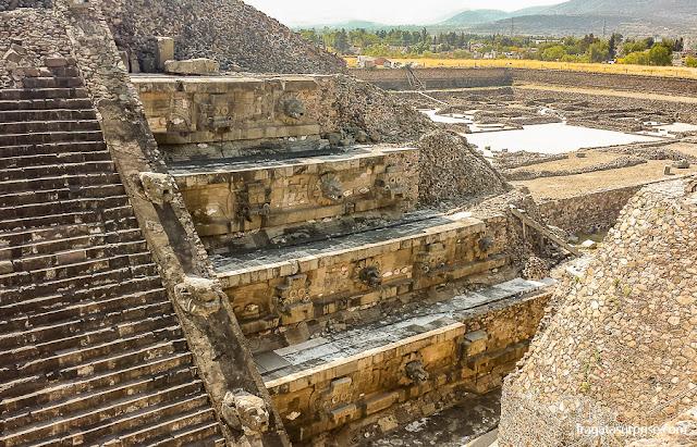 Templo da Serpente Emplumada de Teotihuacán