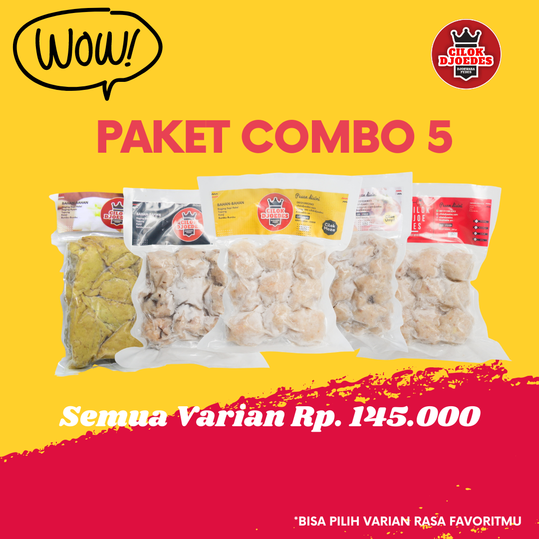 Paket COMBO 5