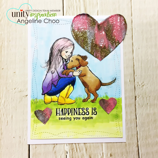 ScrappyScrappy: [NEW VIDEO] Phyllis Harris & Unity Stamp - Today and Always #scrappyscrappy #unitystampco #phyllisharris #card #cardmaking #papercraft #craft #crafting #youtube #quicktipvideo #copicmarkers #wowembossing #zingembossing #meltart #doglover