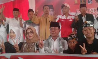<b>Ke Lombok Timur, Ahyar-Mori Siap Tingkatkan Kesejahteraan Tenaga Honorer</b>