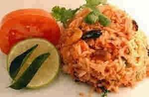 ارز بالطماطم