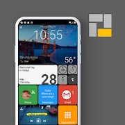 Square Home 3 Launcher Premium Mod APK Windows style