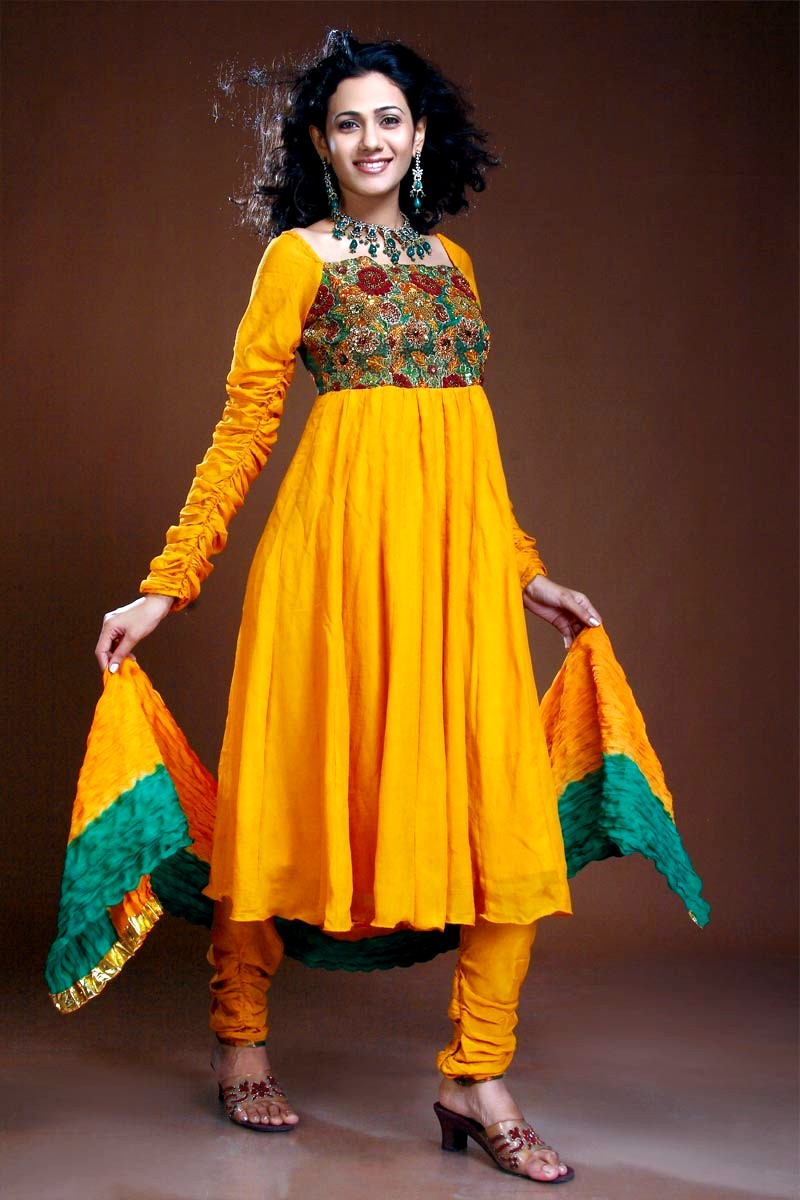 Anarkali Churidaar Dresses | Indian Anarkali Style Dresses ...