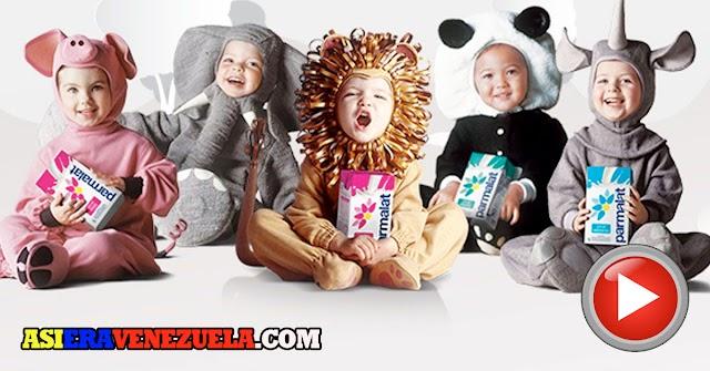 Los bebés mamíferos de Parmalat de los años 90