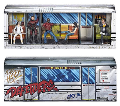 San Diego Comic-Con 2018 Exclusive Netflix' The Defenders Rail Authority Marvel Legends Action Figure Box Set by Hasbro