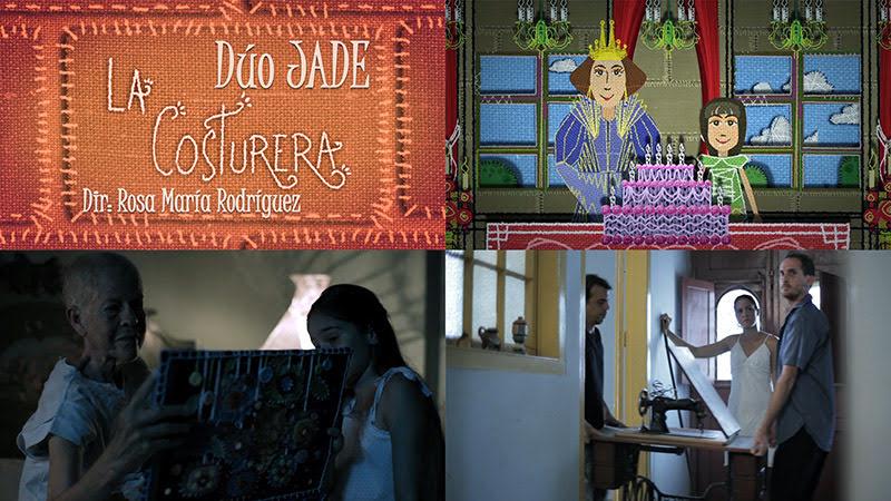 Dúo Jade - ¨La costurera¨ - Videoclip / Dibujo Animado - Dirección: Rosa María Rodríguez. Portal del Vídeo Clip Cubano
