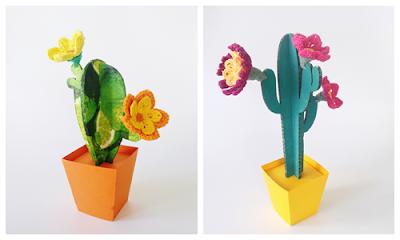 cactus-de-carton-con-flores-de-ganchillo