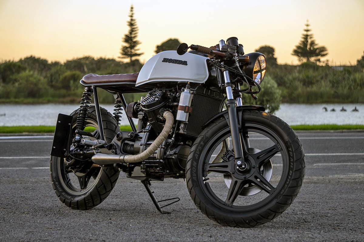 overcoming adversity will 39 s honda cx500 return of the cafe racers. Black Bedroom Furniture Sets. Home Design Ideas