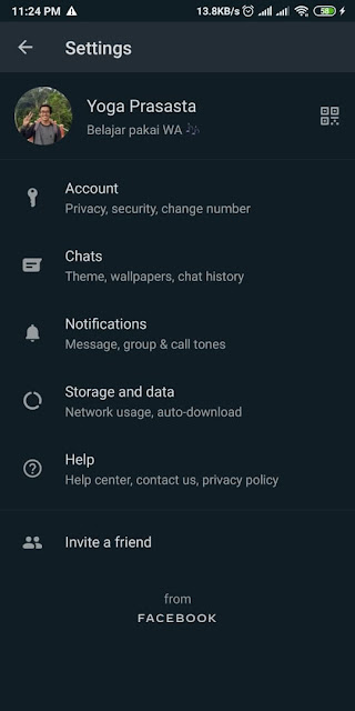 Cara Mengubah Bahasa di Whatsapp 2