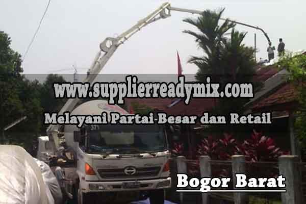 Harga Cor Beton Ready Mix Bogor Barat