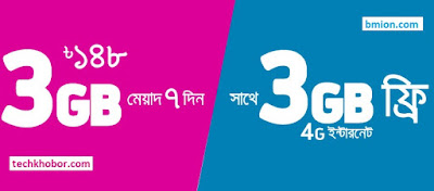 Grameenphone-GP-6GB-148Tk-Internet-Offer-3GB-Regular-3GB-4G