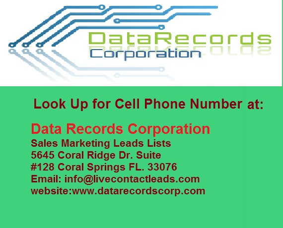 Cell Phone Number in US