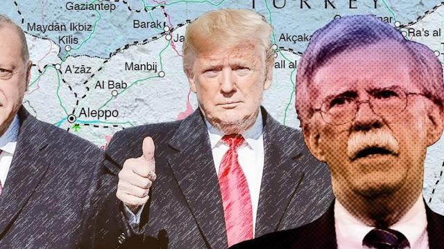 """Αποκαλύψεις για τον """"έρωτα"""" Τραμπ - Ερντογάν"""