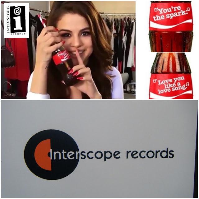Interscope y Selena Gomez cada vez demostrando más.