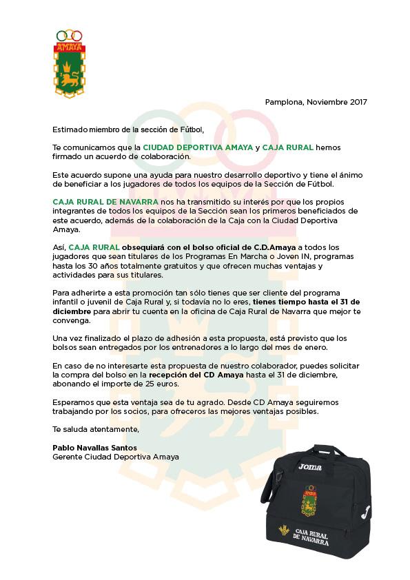 C.D. Amaya - Sección de Fútbol.: diciembre 2017