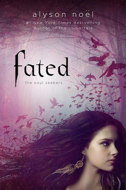 News: Divulgada a capa de Fated, by Alyson Noel 7
