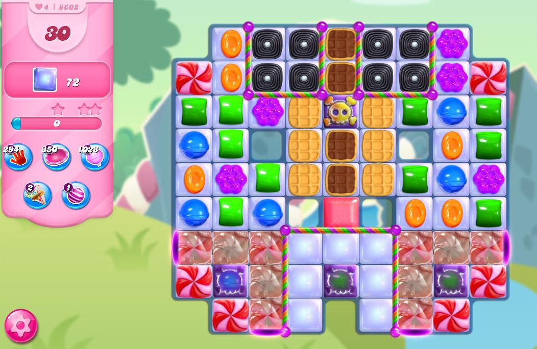 Candy Crush Saga level 8602