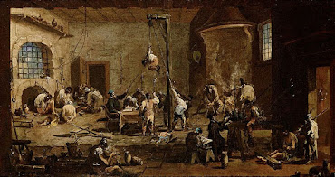 Magnasco's graphic Interrogations in Jail, painted between 1710 and 1720