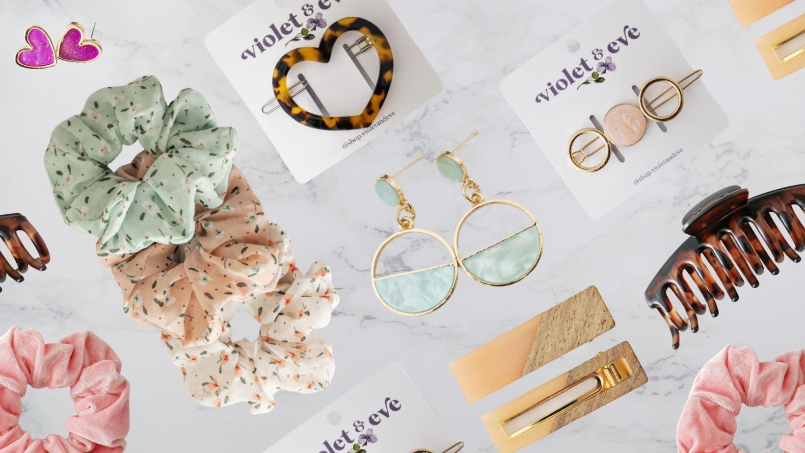 Trendy fashion jewelry and accessories
