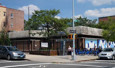 Greenpoint Library from the opposite corner