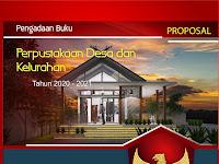 Proposal Pengadaan Buku Perpustakaan Desa dan Kelurahan Tahun 2020 - 2021