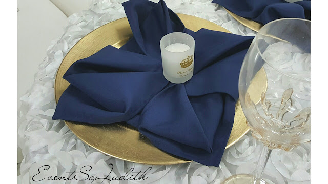 Rosette Table Cover, Wedding LInen