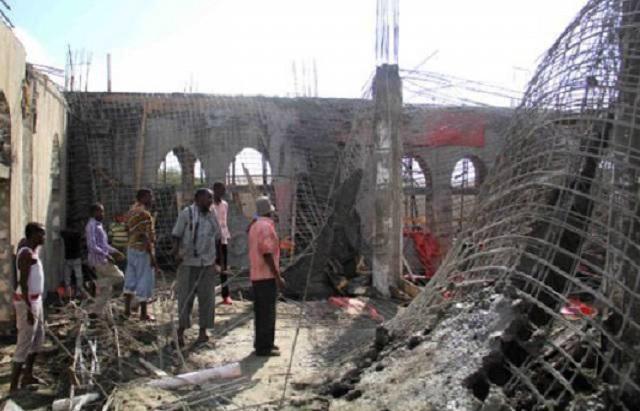 15 Terbunuh 40 Cedera Masjid Runtuh Di Somalia