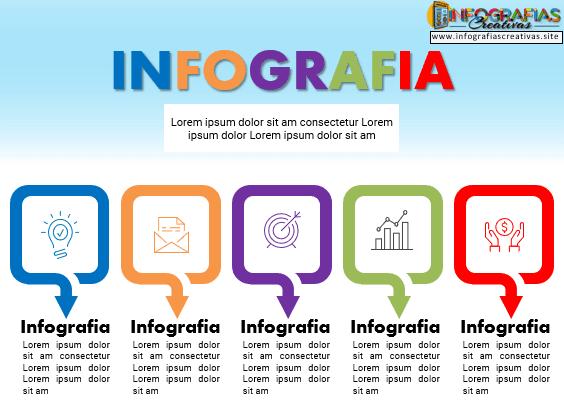 Plantilla PowerPoint de infografía 18