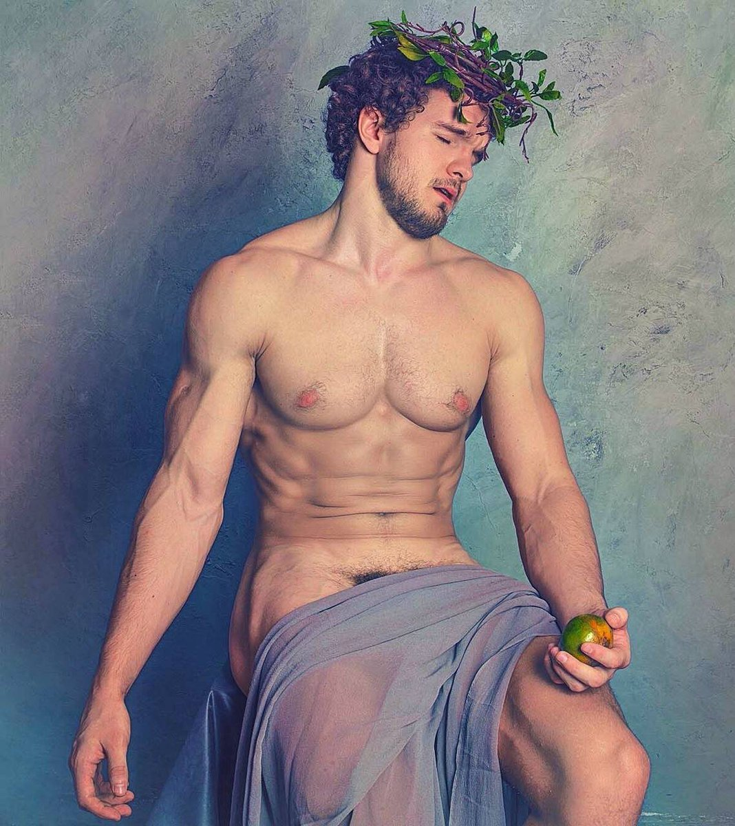What happens when men get naked for art